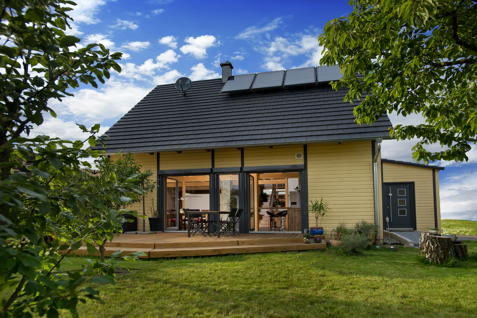 Holzhaus Pleinfeld: Einfamilienhaus